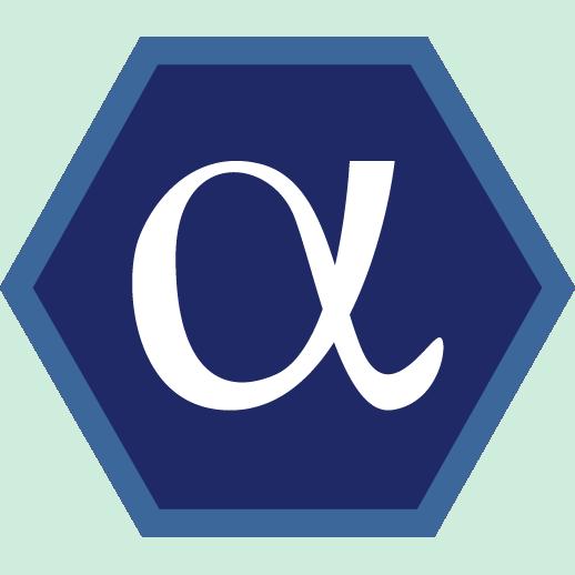 Alpha badge