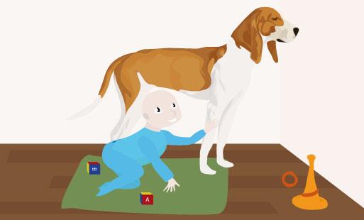 Prouver que son chien est cool avec les enfants