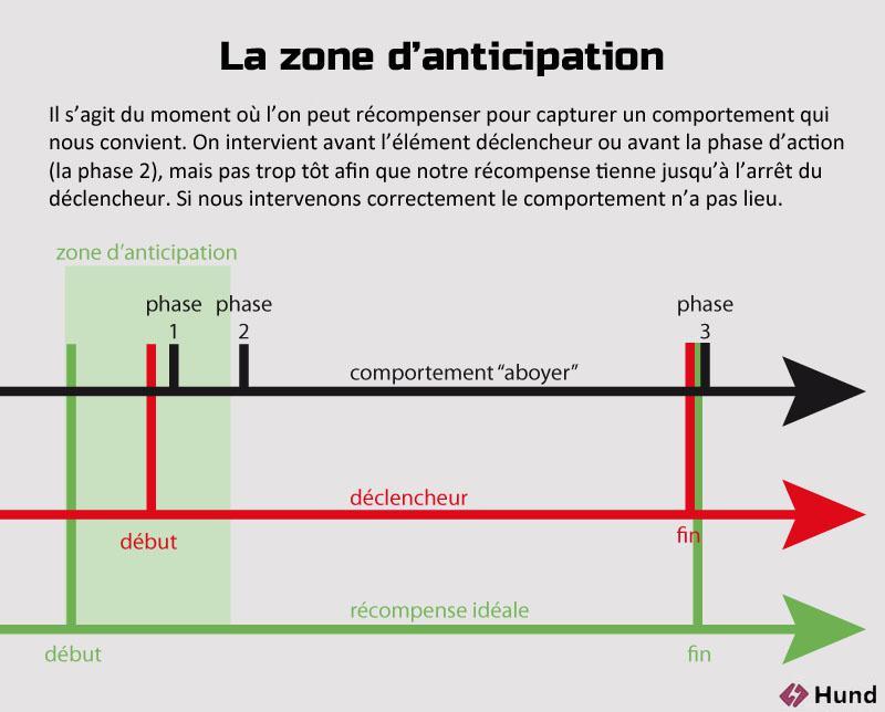 Zone anticipation