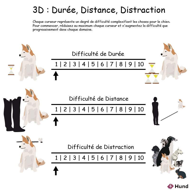 distance, durée, distraction