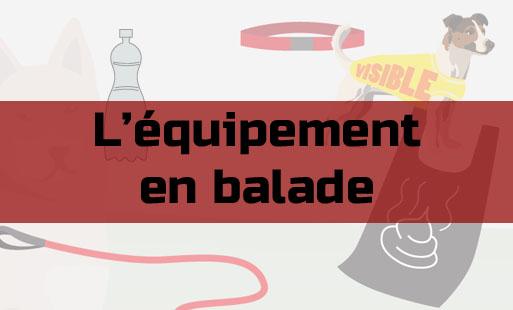 Quel équipement emmener en balade ?
